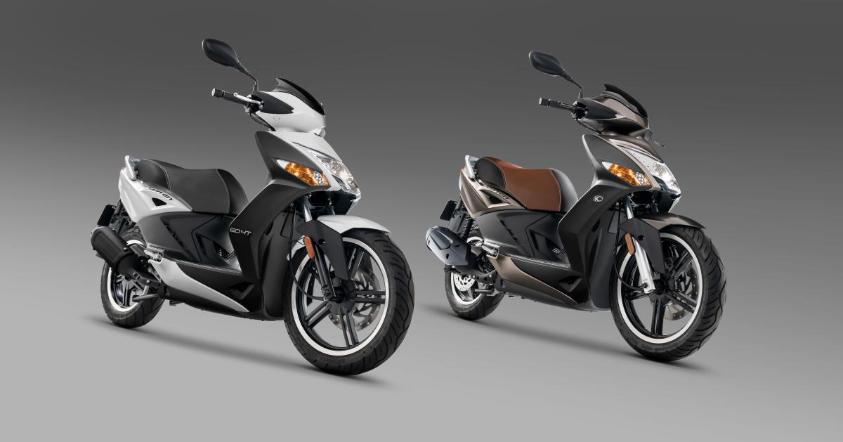 KYMCO vuelve a los scooters de 50 cc con la Agility City 50
