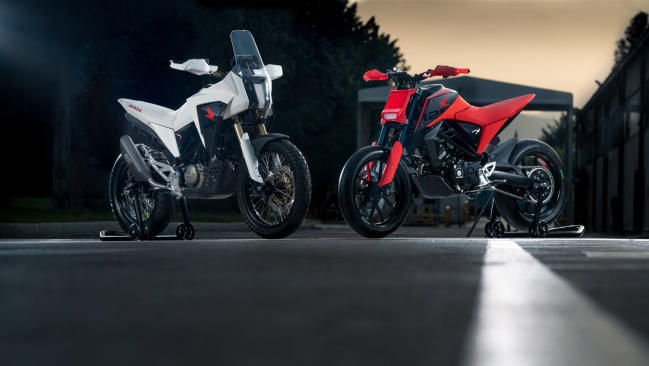 Honda CB125M y CB125X Concept: un vistazo al futuro