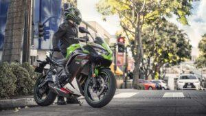 Nuevos colores 2021 para Kawasaki Z 650, Ninja 650 y Versys 650