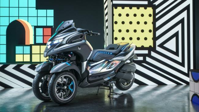Yamaha Concept 3CT; salón de Milán EICMA 2018