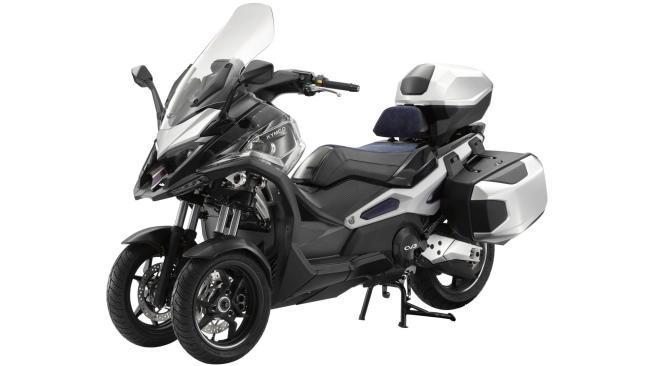 KYMCO CV3 2021:El tres ruedas premium de KYMCO entrará en producción