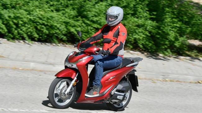 Prueba Honda SH 125i 2020: Rozar la perfección