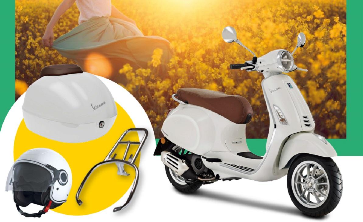 Grupo Piaggio: 25% de descuento a nuevos clientes en accesorios y cascos