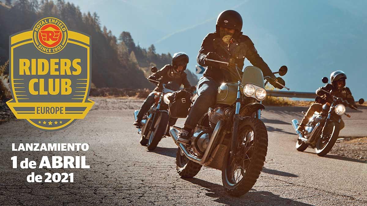 Riders Club of Europe: una plataforma para reunir a propietarios y entusiastas de Royal Enfield