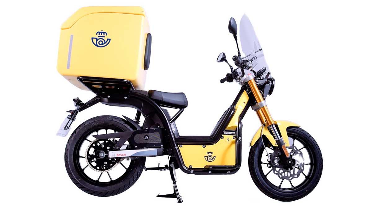 RIEJU NUUK obtiene la mayor adjudicación de motos eléctricas para Correos España