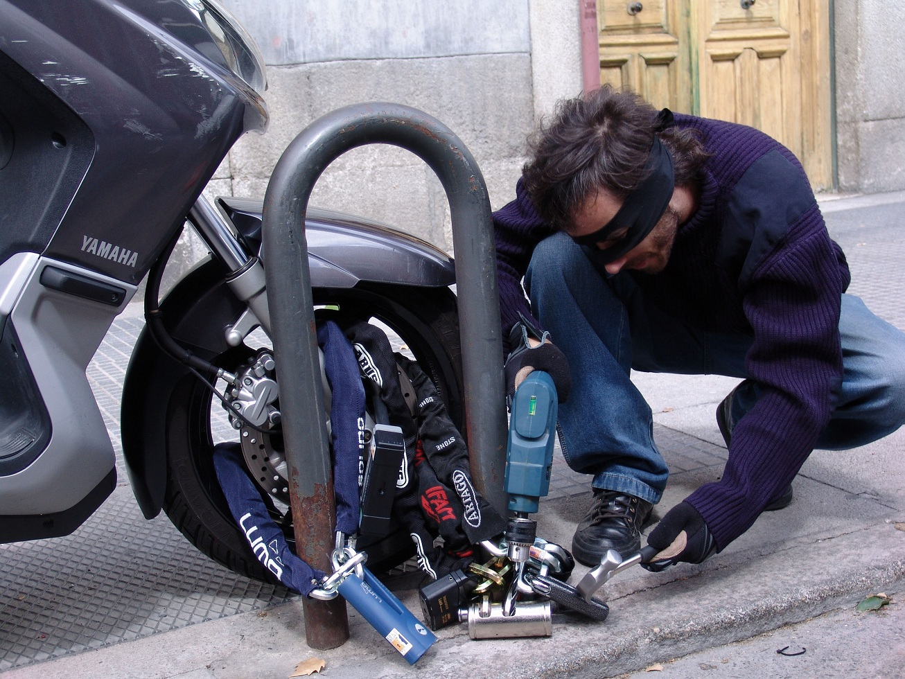 Desarticulada una banda organizada de robos de motos
