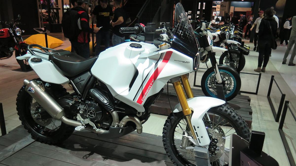 Prototipos Scrambler Ducati Motard y Desert X