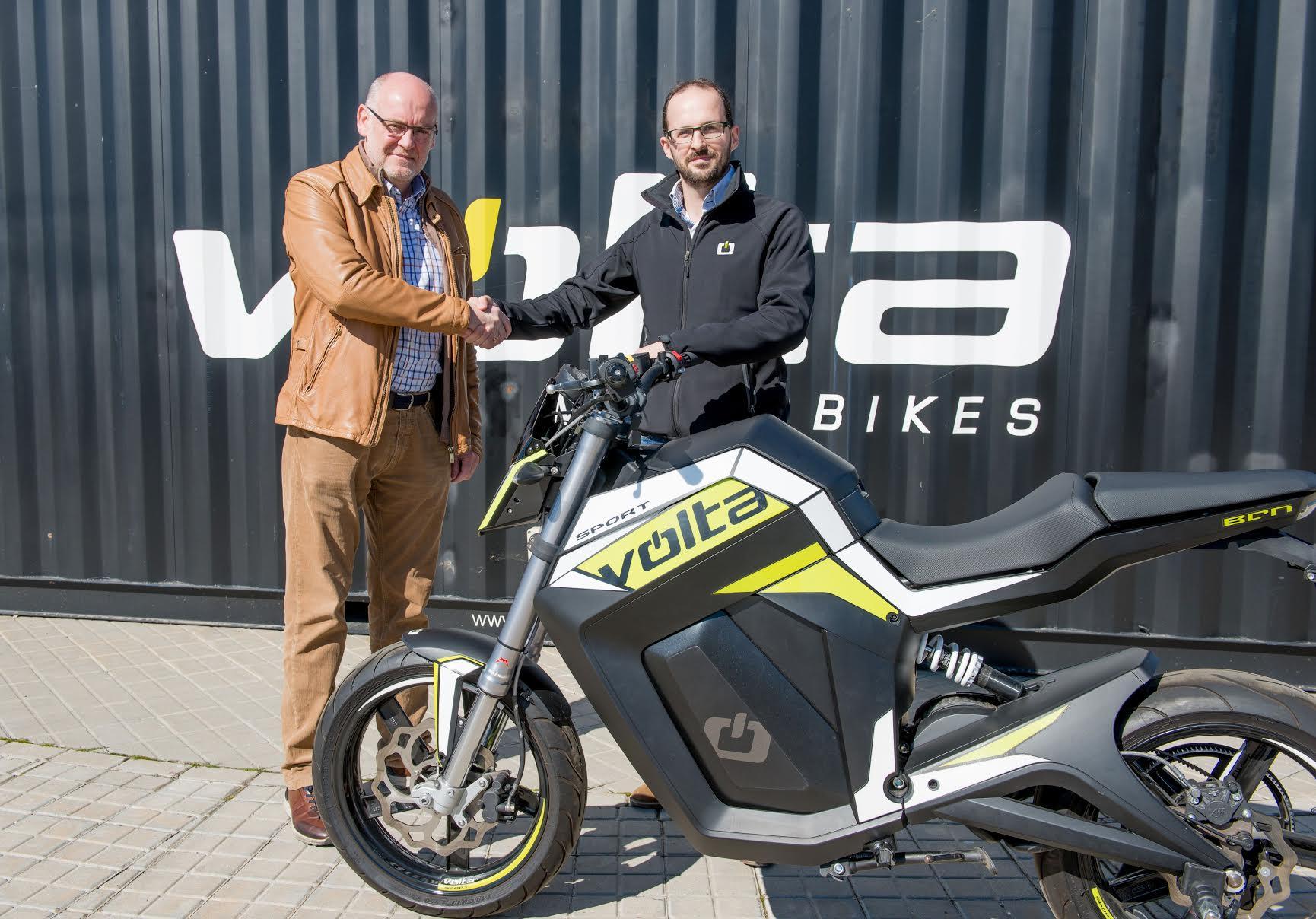 Segway España será distribuidor oficial de las motos eléctricas Volta