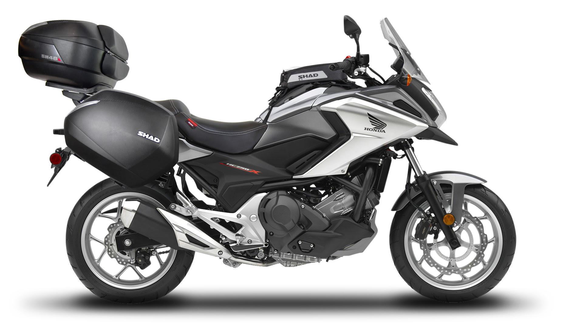SHAD lanza un nueva maleta de moto para la NC750X
