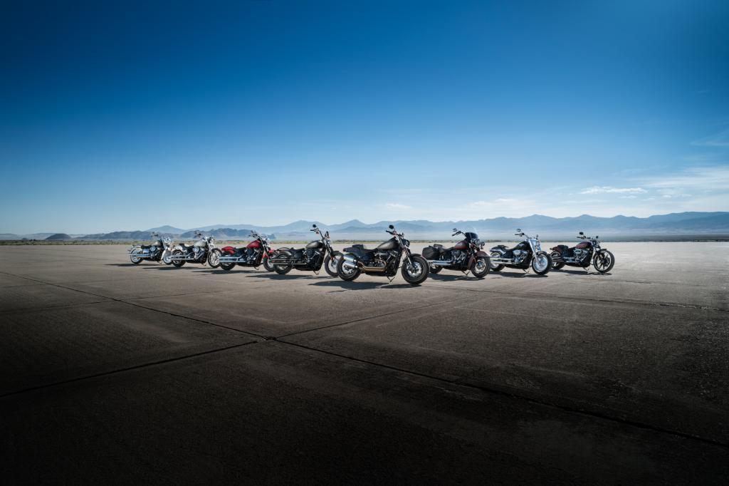 softail model lineup 1