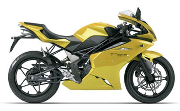 sportbike 125cc yellow