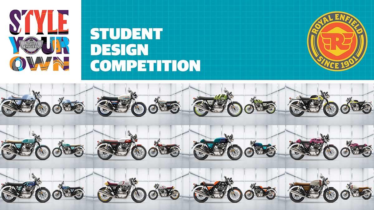 Concurso de diseño Royal Enfield Style Yoour Own: a la búsqueda de jóvenes talentos