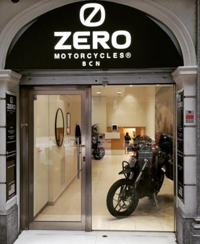 Zero Motorcycles abre su primera tienda física en Europa