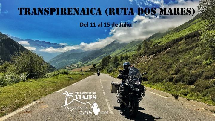 Ruta Transpirenaica 2018: en moto desde el Cantábrica al Mediterráneo