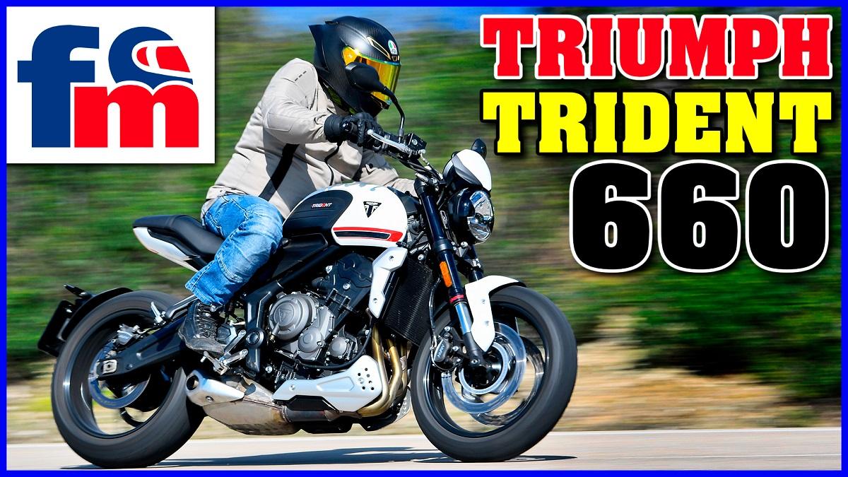 (VÍDEO) Triumph Trident 660