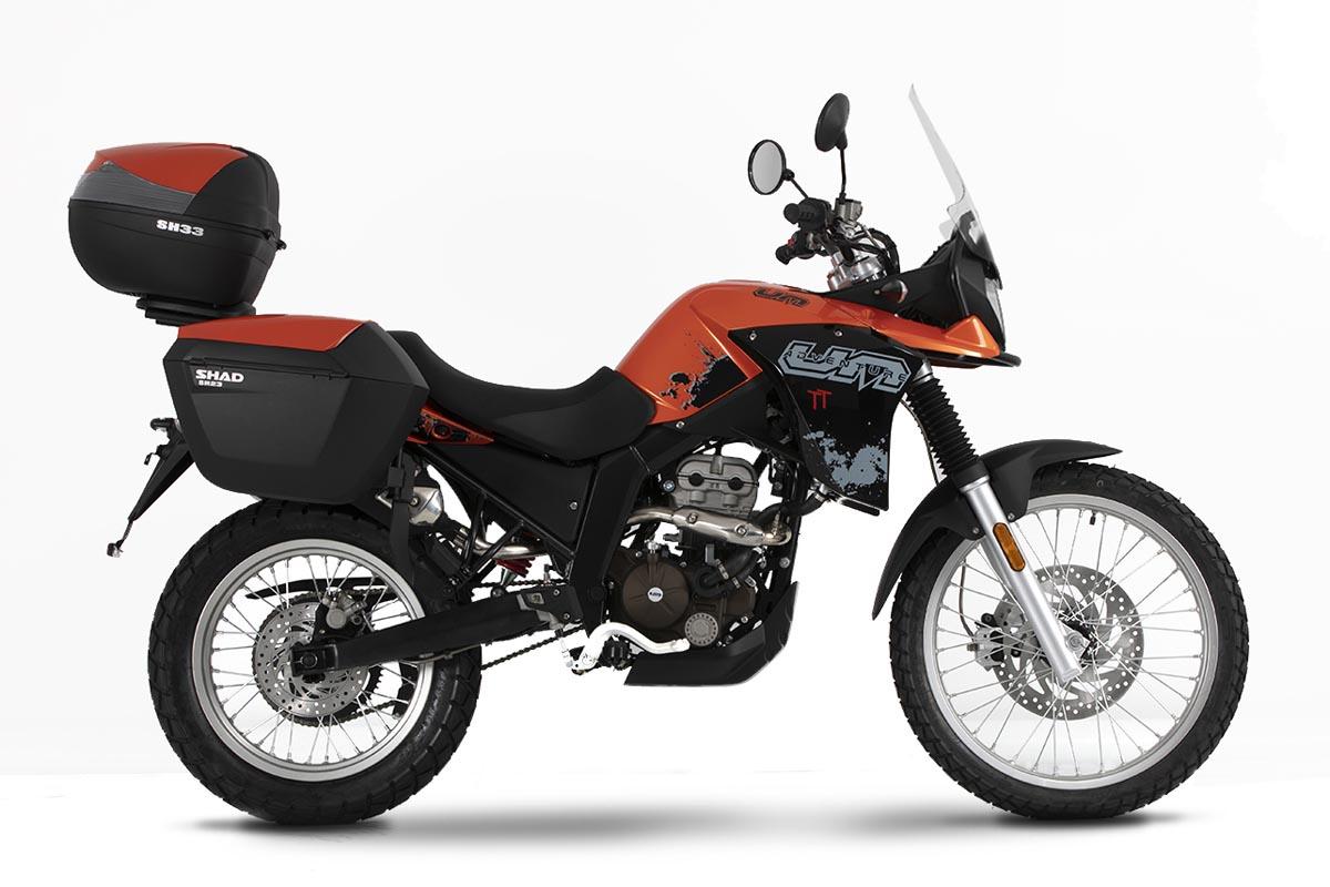 La gama UM Motorcycles con motor de 15 CV