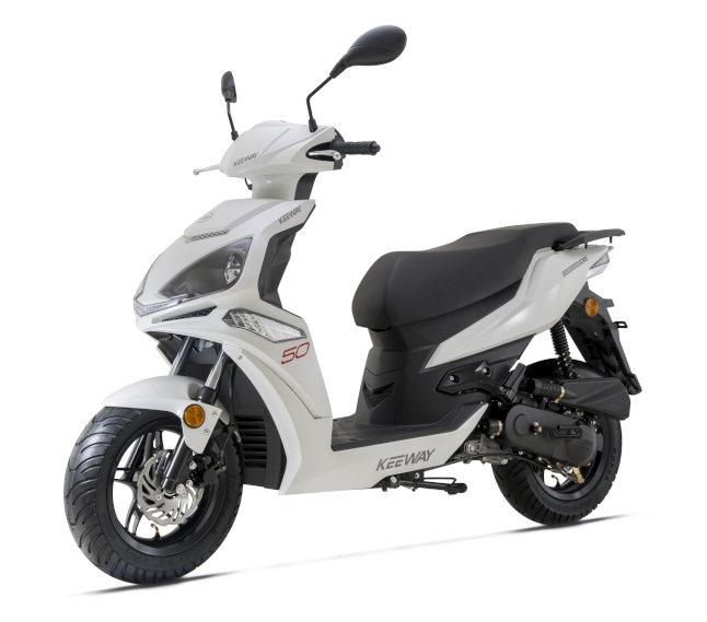 Keeway presenta el Urbanblade, su nuevo scooter de 50cc
