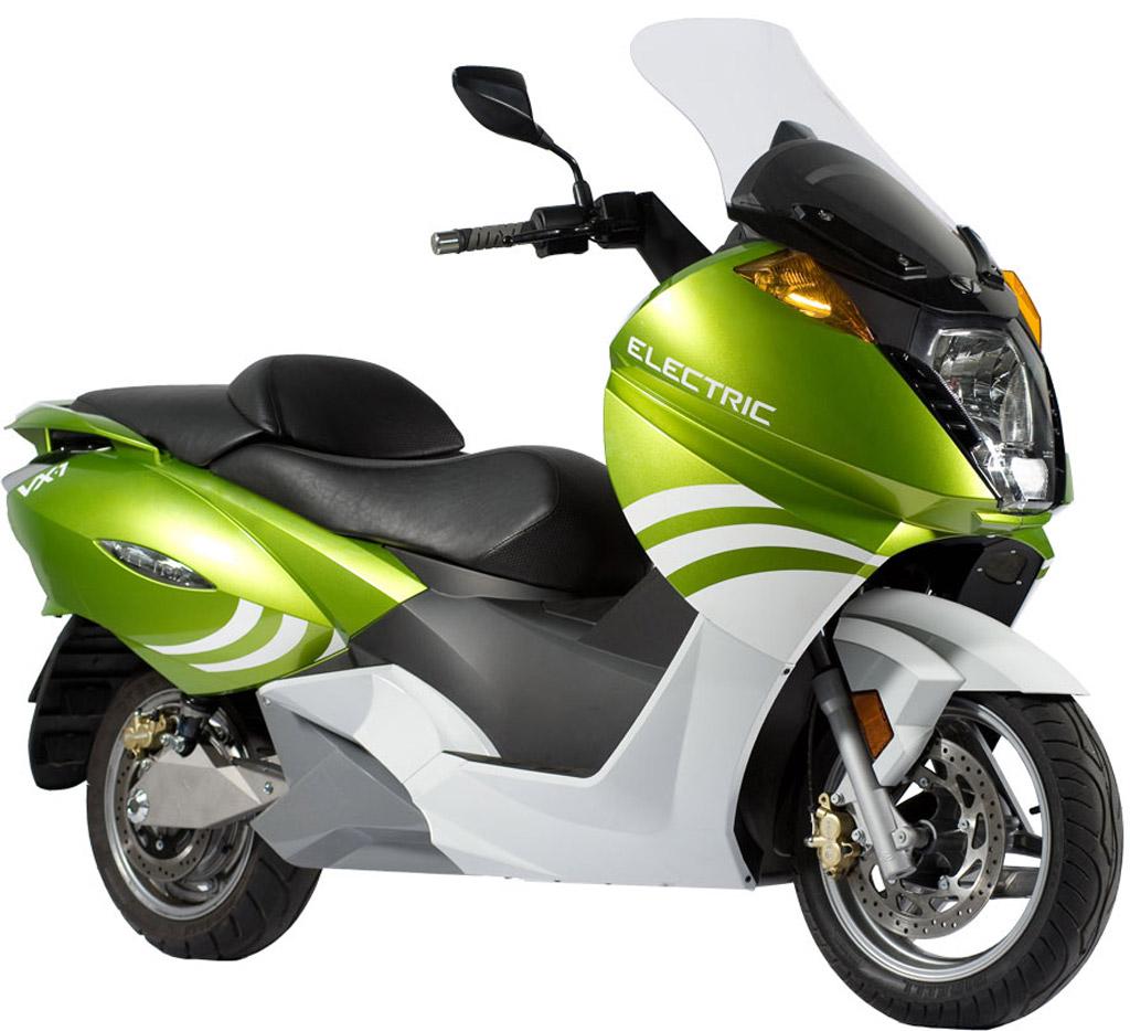 Vectrix, el scooter eléctrico más vendido en España