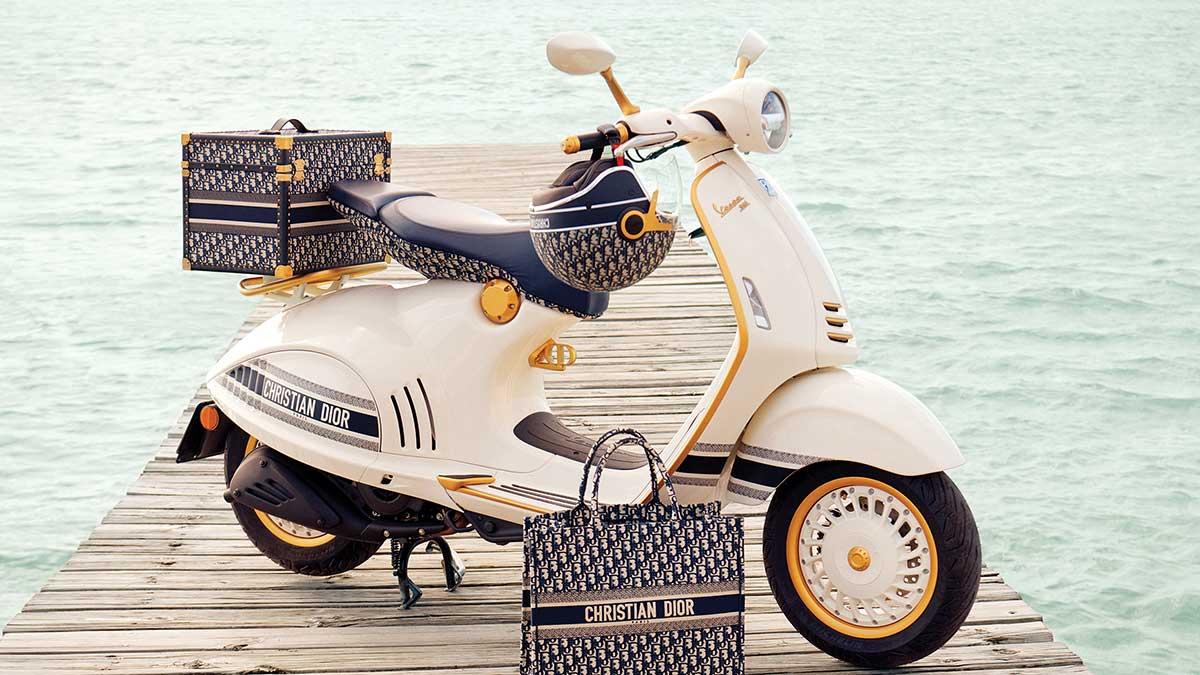 Vespa 946 Christian Dior: El scooter más exclusivo