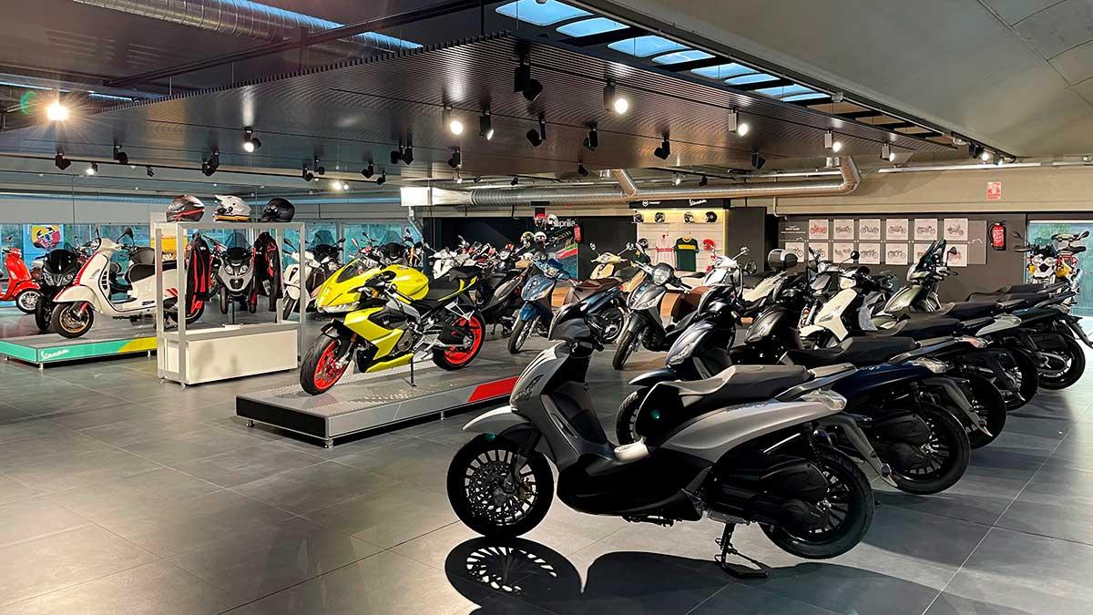 El Grupo Piaggio inaugura un nuevo concesionario en Navarra
