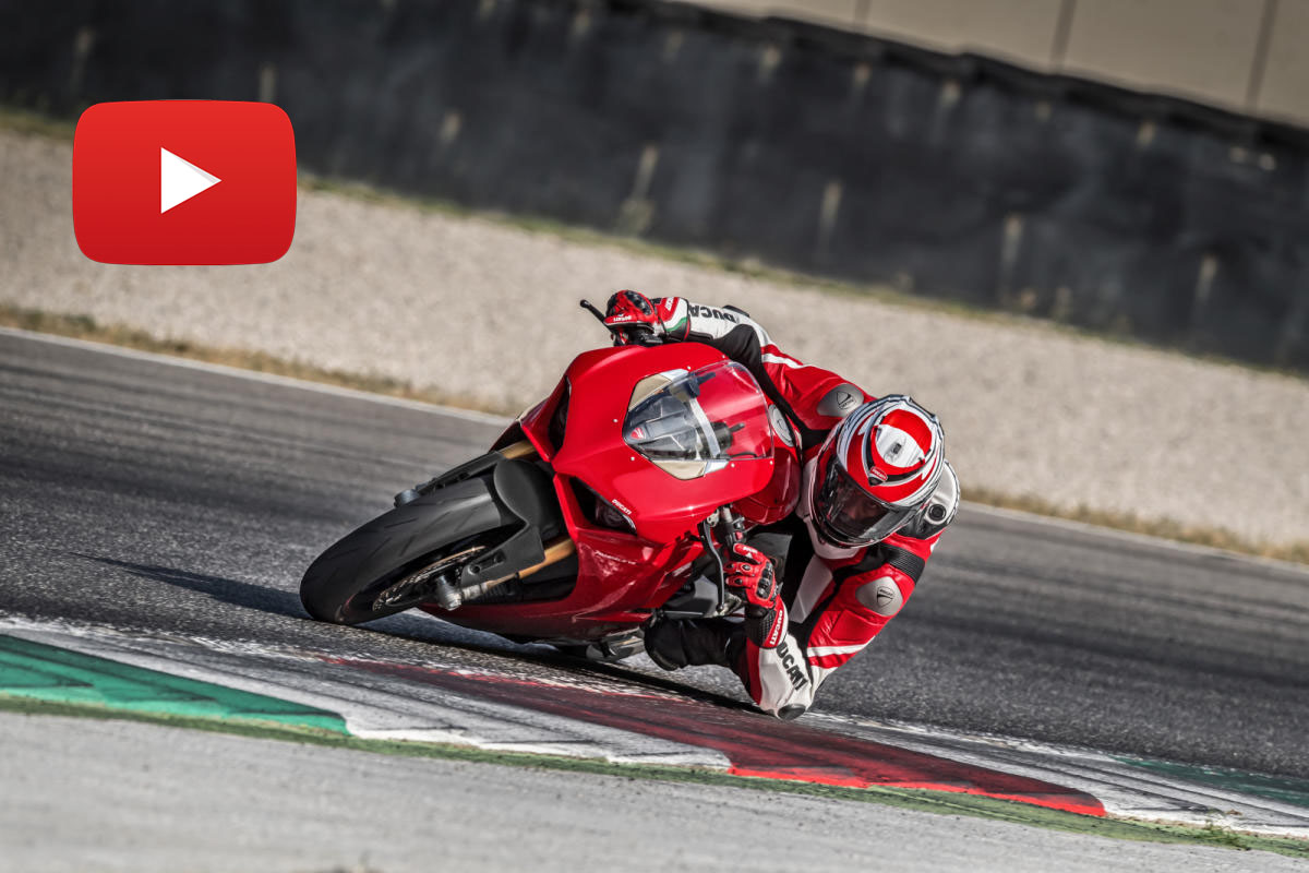 Ducati V4 Panigale en VÍDEO