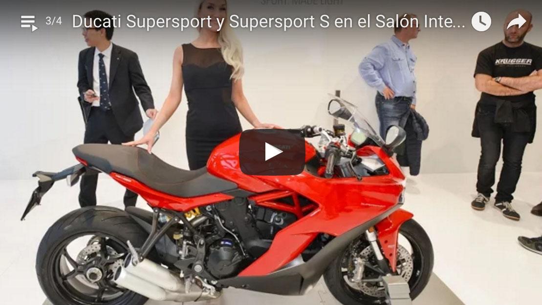 VÍDEO de la Ducati Supersport S en el Salón INTERMOT de Colonia