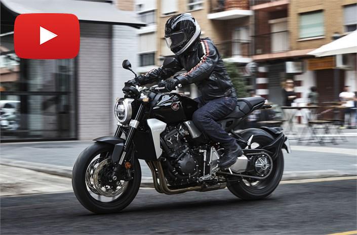 Honda CB1000R 2018 en vídeo