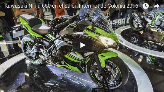 VÍDEO de la Kawasaki Ninja 650 desde el Salón INTERMOT Colonia