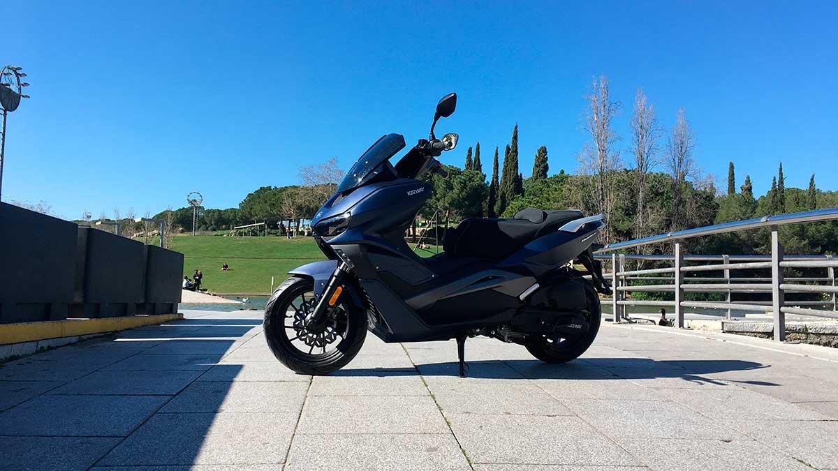 Keeway Vieste, su nuevo scooter de 125