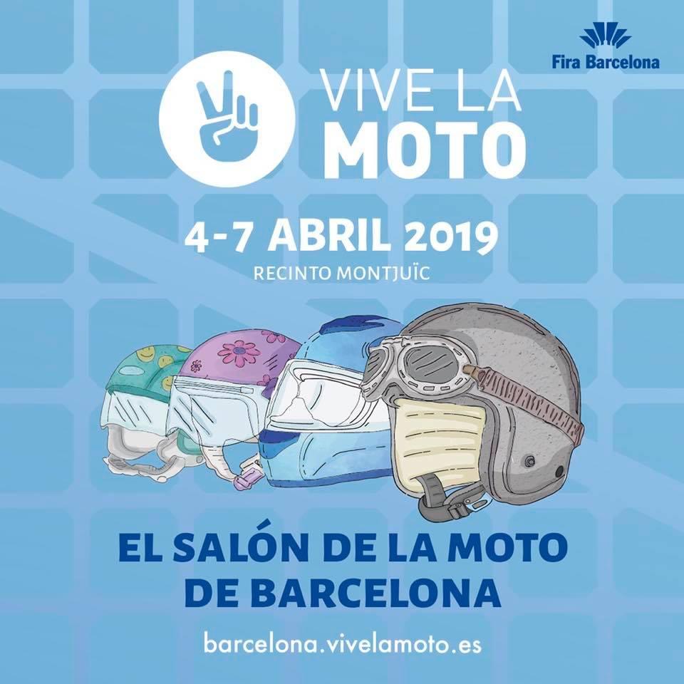 Regalamos 20 entradas dobles para el Salón Vive la Moto de Barcelona