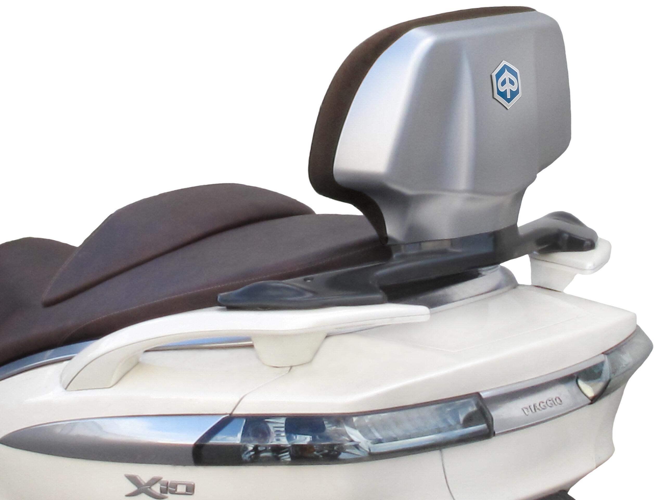 Nuevo respaldo para el Piaggio X10