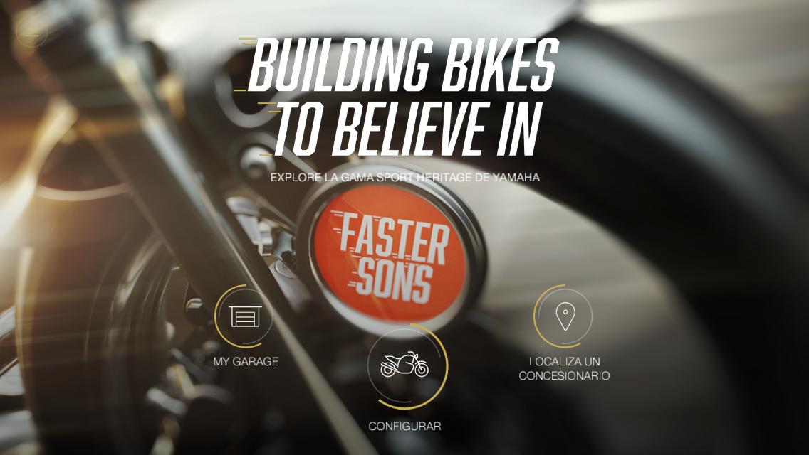 My Garage, la App para crear la Yamaha a tu gusto