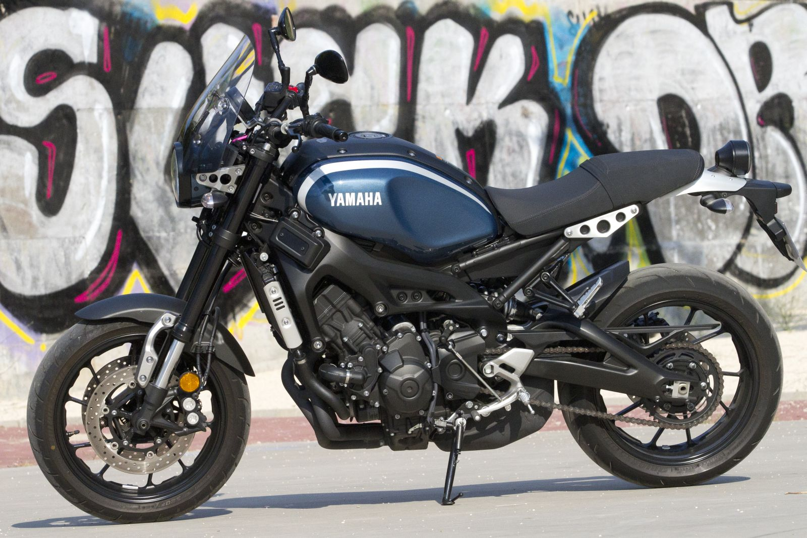 Yamaha XSR-900 al detalle