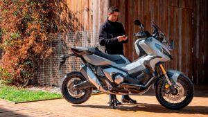 Fotos: Honda presenta la conectividad en sus motos y scooters