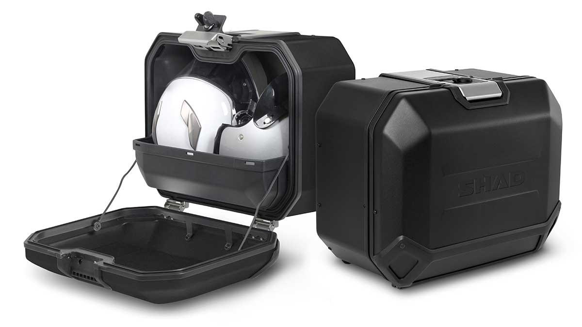 SHAD renueva su gama de maletas TERRA con la edición limitada BLACK