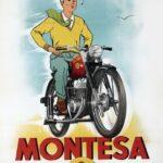 Cartell publicitari de la Montesa Brio