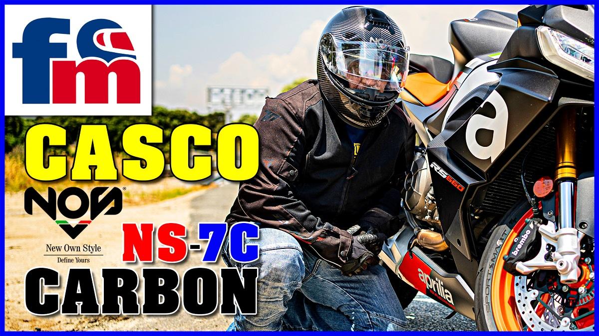 (VÍDEO) Casco NOS NS 7C Carbon