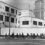 Fabrica Montesa calle Pamplona 1958