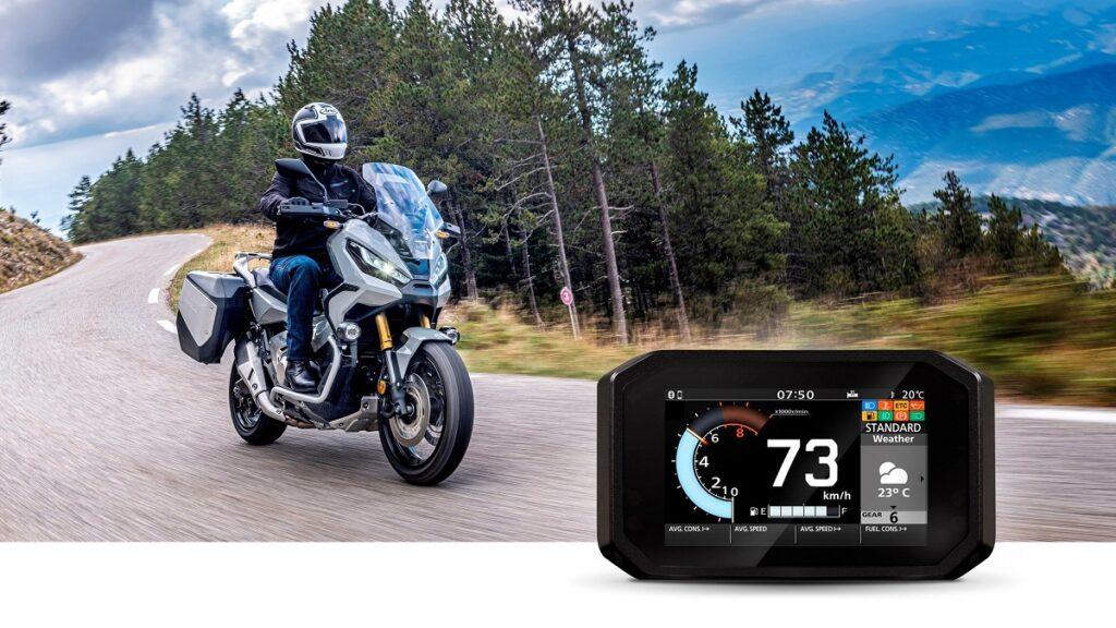 Honda motos conectividad 3