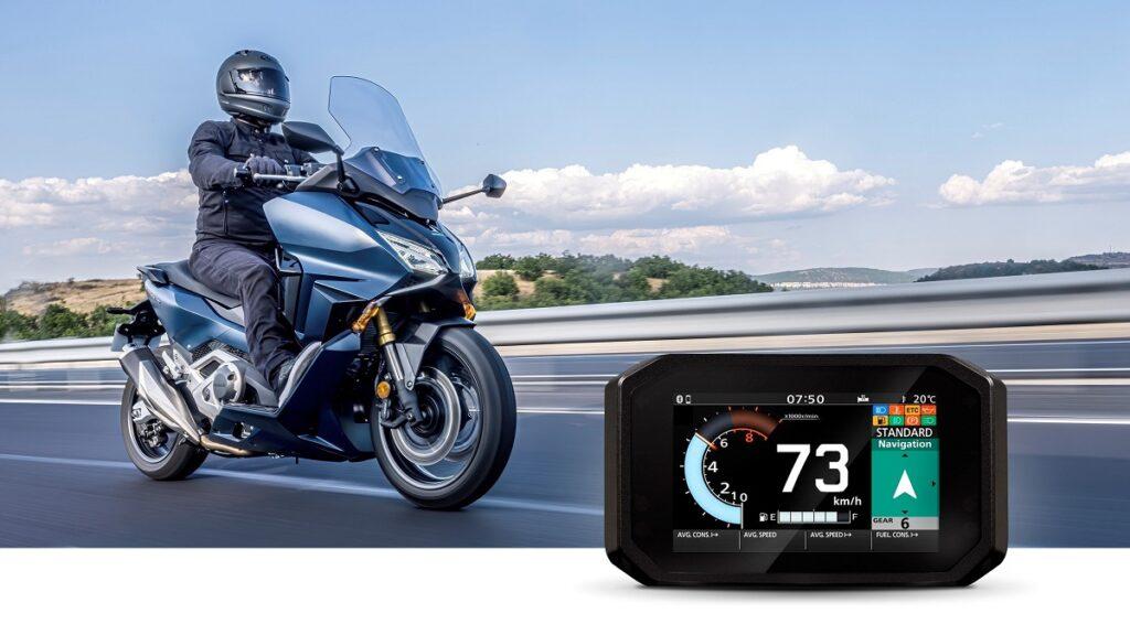 Honda motos conectividad 4