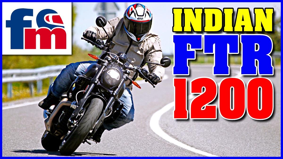 (VÍDEO) Indian FTR 1200