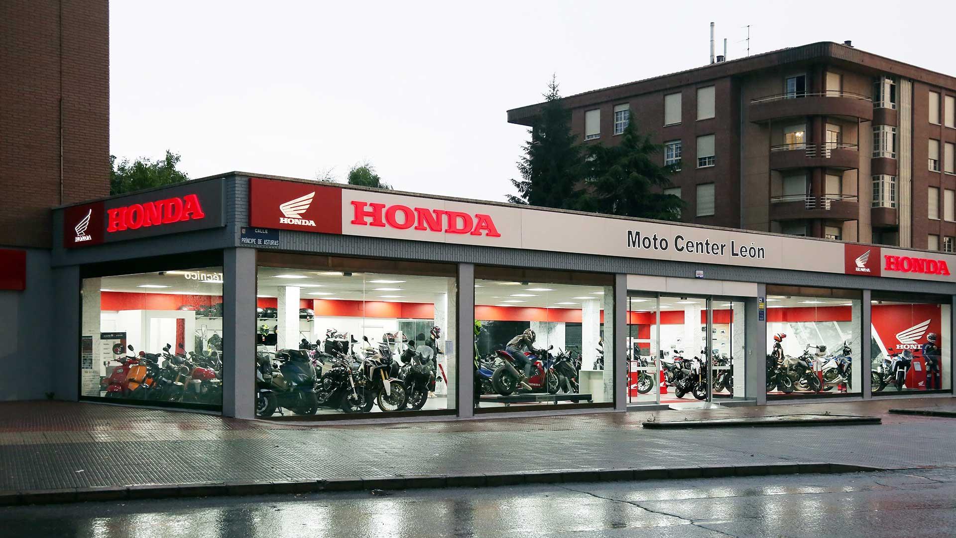 Moto Center León, nuevo concesionario oficial Honda