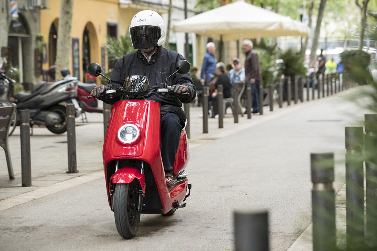 Las motos eléctricas aumentan protagonismo en 2021