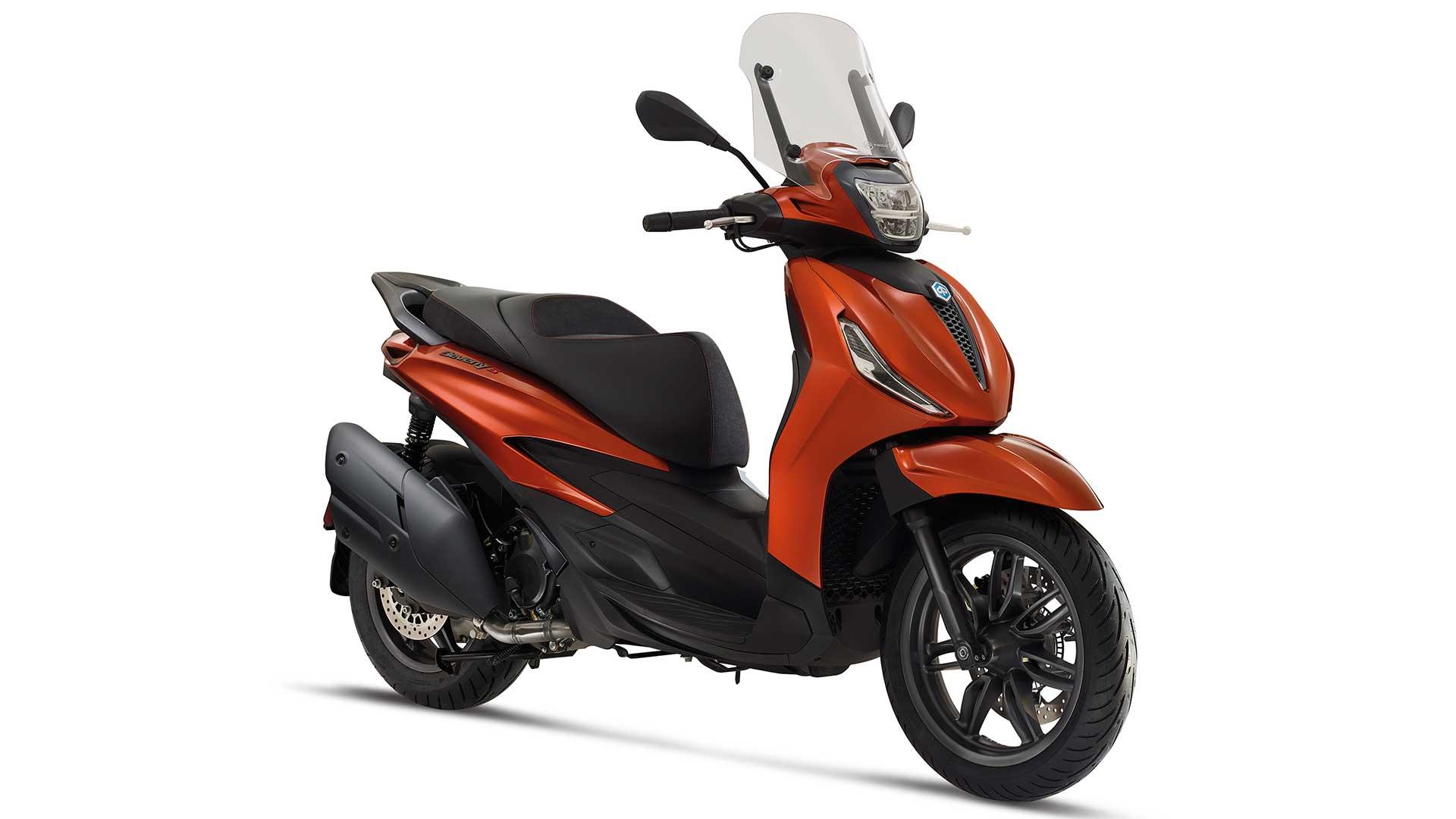 """Piaggio """"Urban Days"""": seguro gratuito en varios modelos Euro 5"""