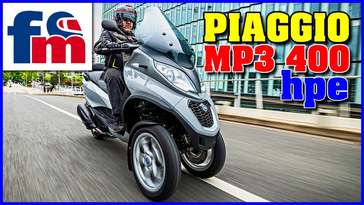 (VÍDEO) Piaggio MP3 400 hpe