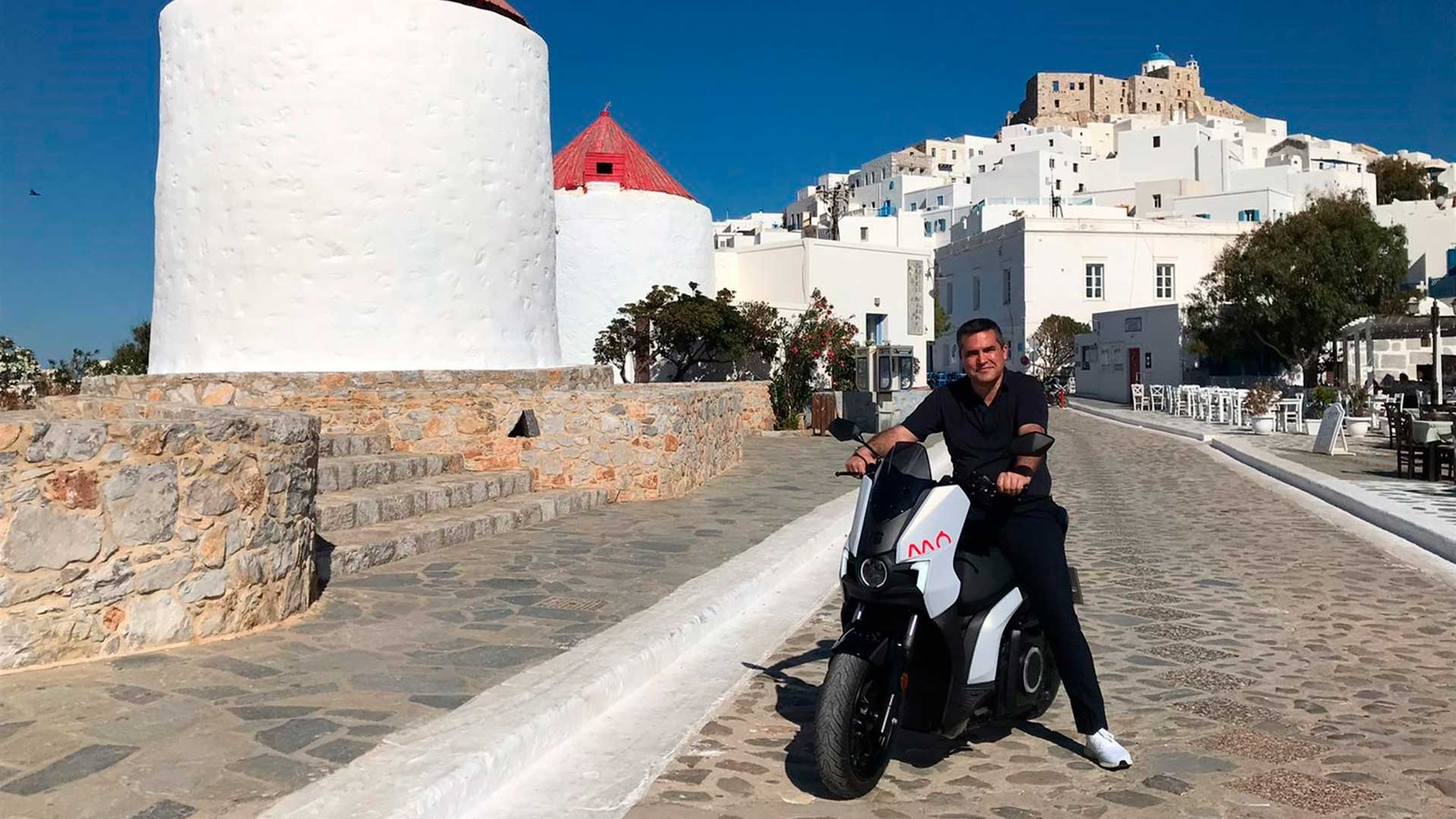 Seat MÓ acerca la electrificación a una isla griega