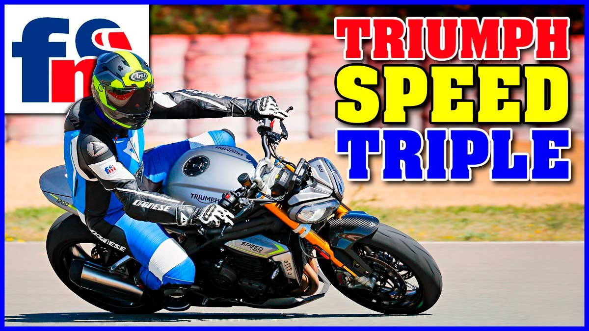 (VÍDEO) Triumph Speed Triple 1200 RS