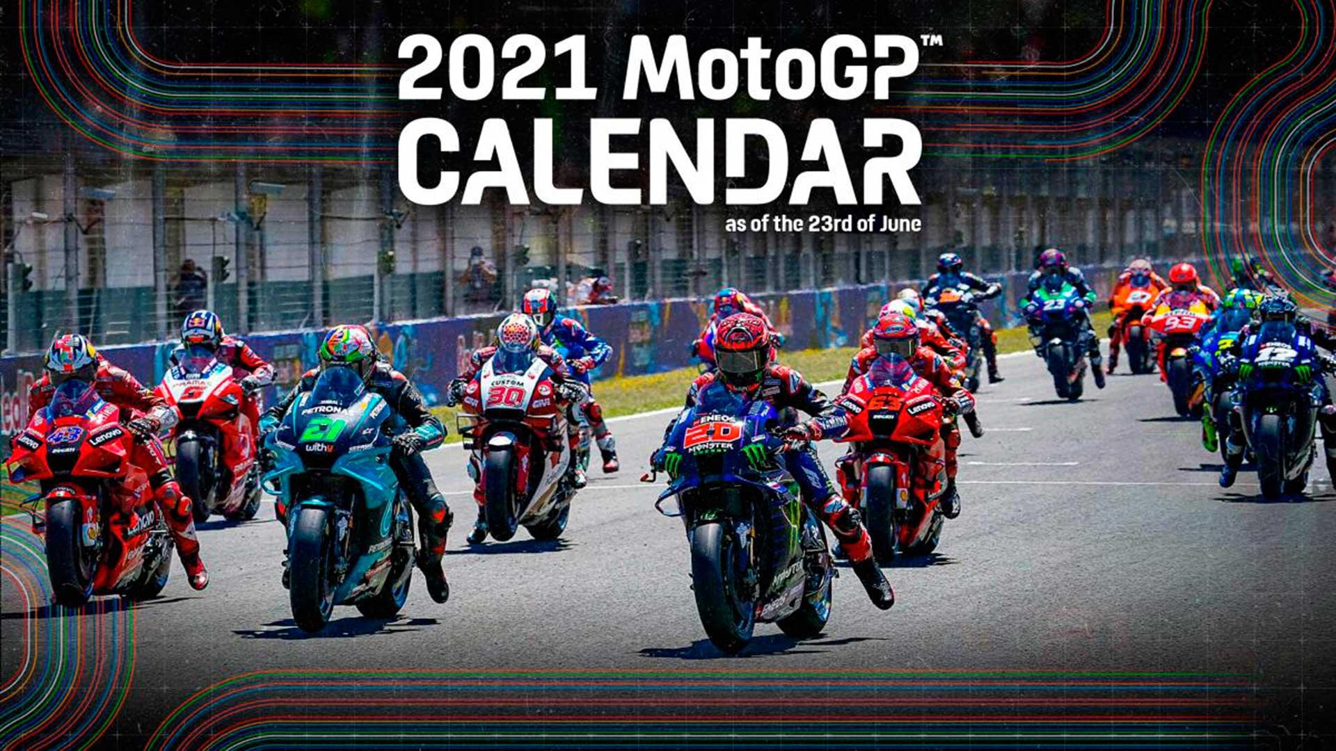 Calendario de MotoGP 2021: se cae el GP de Japón