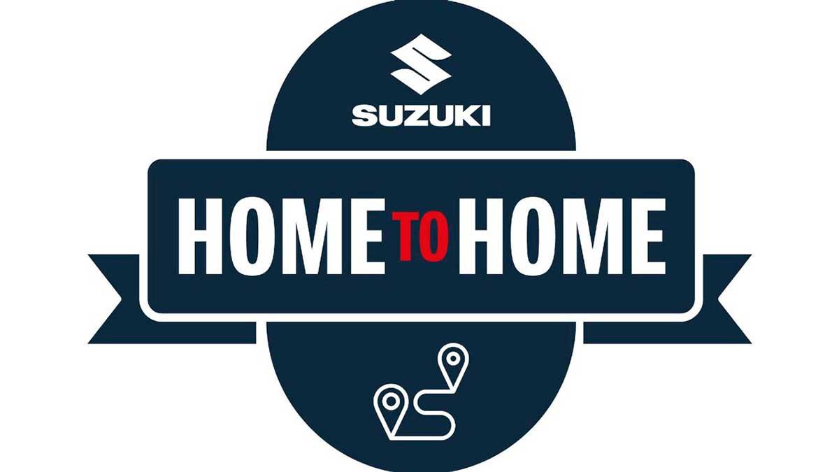 """Suzuki vuelve a poner en marcha """"Home to Home"""" para recoger y entregar tu moto"""