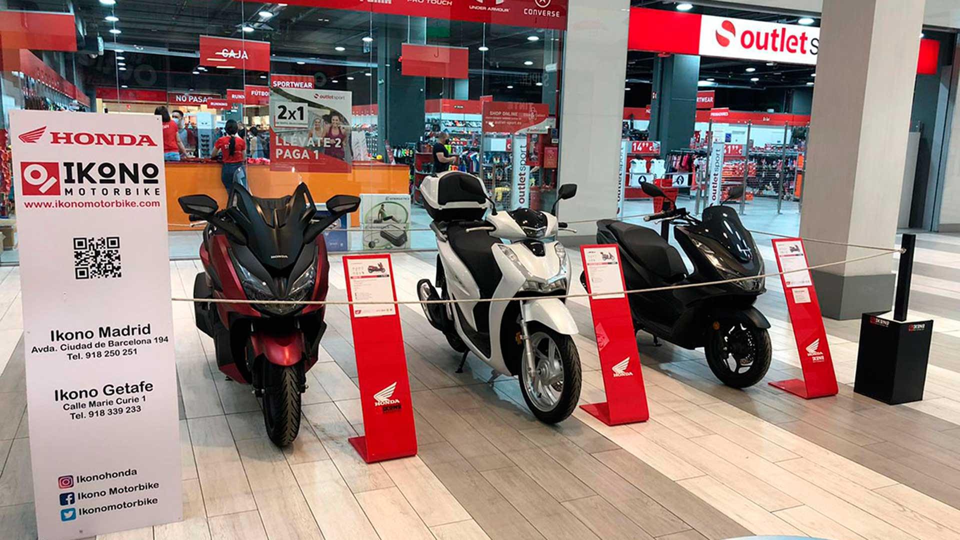 Las Honda más urbanas llegan a Sambil Outlet a través de Ikono Motorbike
